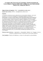 O impacto do Programa de Expansão e Reestruturação das Universidades Federais (REUNI) na Biblioteca da Universidade Federal do Triângulo Mineiro