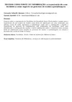 TECIDOS COMO FONTE DE INFORMAÇÃO: a organização de uma tecidoteca como suporte no processo de ensino-aprendizagem