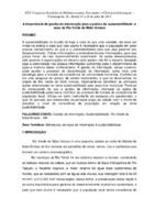 A importância da gestão da informação para a prática da sustentabilidade: o caso de Rio Verde de Mato Grosso