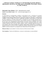 A licença Creative Commons e o movimento de acesso aberto à informação científica: um olhar para a Scientific Electronic Library on Line (SciELO)