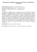 Abordagem da qualidade programa 5s aplicada a uma biblioteca: caso sbi-ifsc