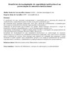 Benefícios da implantação de repositório institucional na preservação da memória institucional