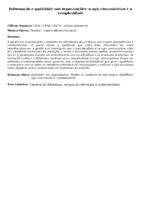 Informação e qualidade nas organizações: o agir comunicativo e a complexidade