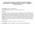 Preservação da memória institucional: estudo de soluções diferenciadas de acondicionamento da Coleção U da Biblioteca Central da UFRGS