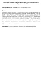 Uma reflexão sobre gestão sustentável de museus e o ensino da museologia no século XXI