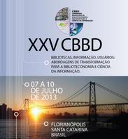 XXV Congresso Brasileiro de Biblioteconomia, Documentação e Ciência da Informação